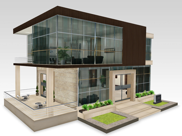 small office buildings designs