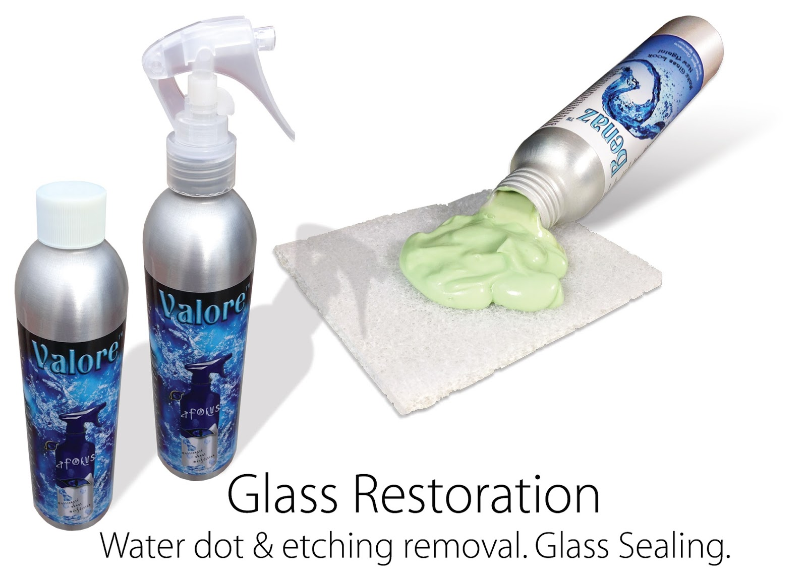 Glass Cleaner and Sealer