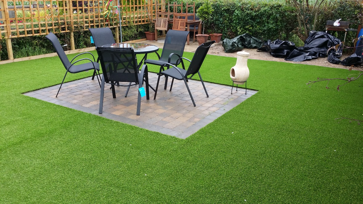 Exterior Designing With Artificial Grass